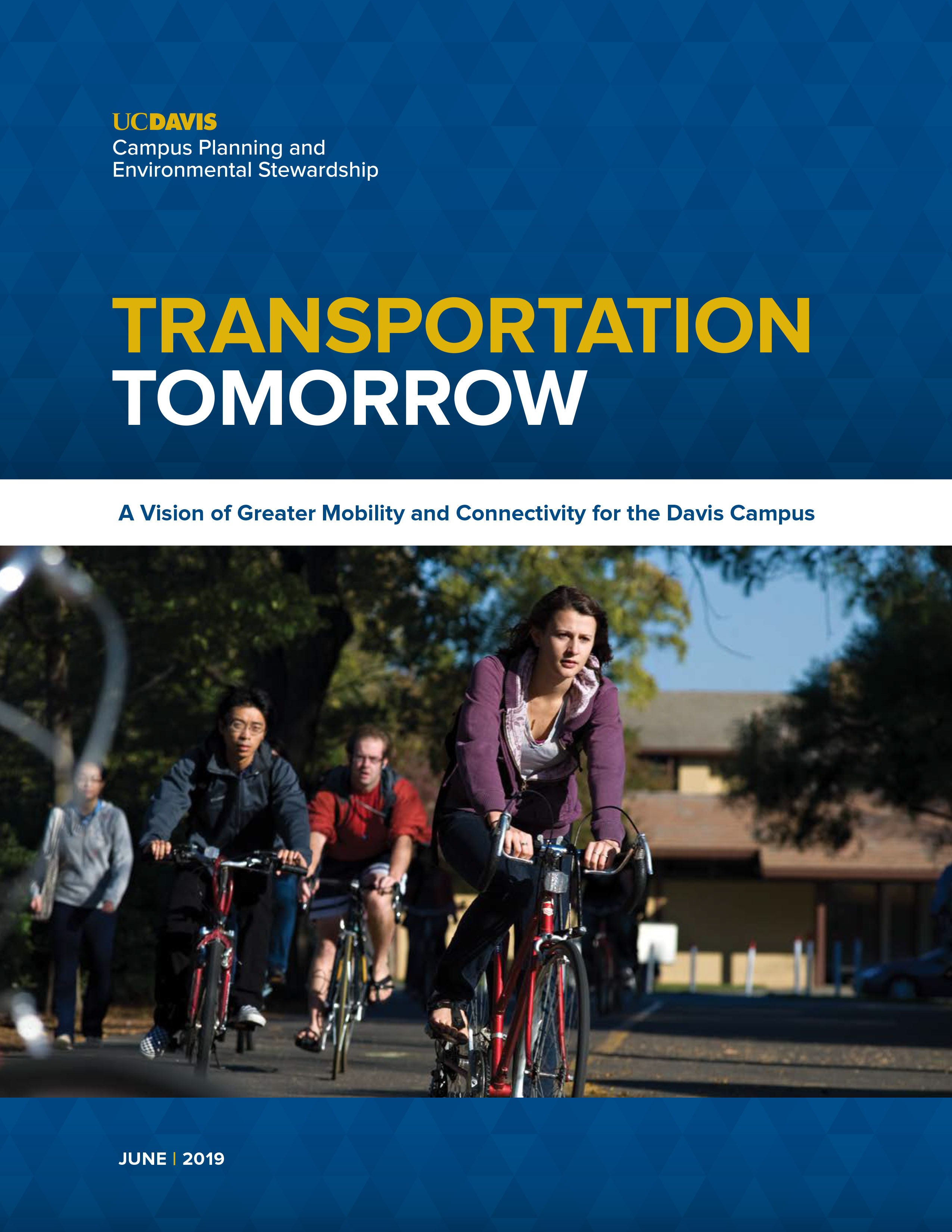 Image of Transportation Tomorrow report cover.